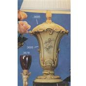 S3694 -Tall Victorian Vase with Round Base 33cm